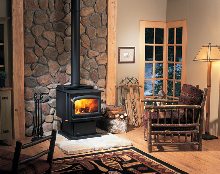 Regency Freestanding Wood Stoves come in Traditional Styles and Contemporary Styles.