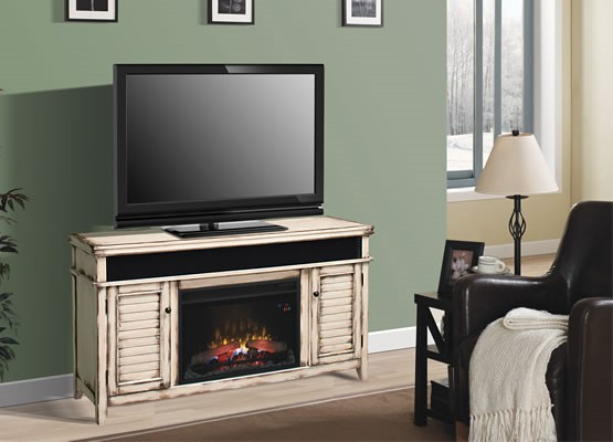 Classic Flame has electric inserts, fireplaces, media consoles, mantels, and wall-hanging units.