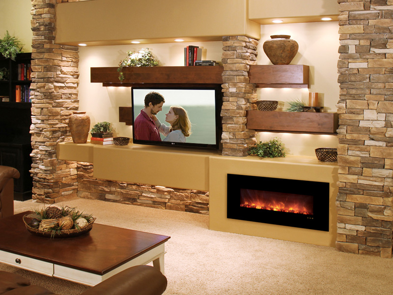Fireplace Design wall fireplaces : Modern Flames Electric — Valley Fire Place Inc.