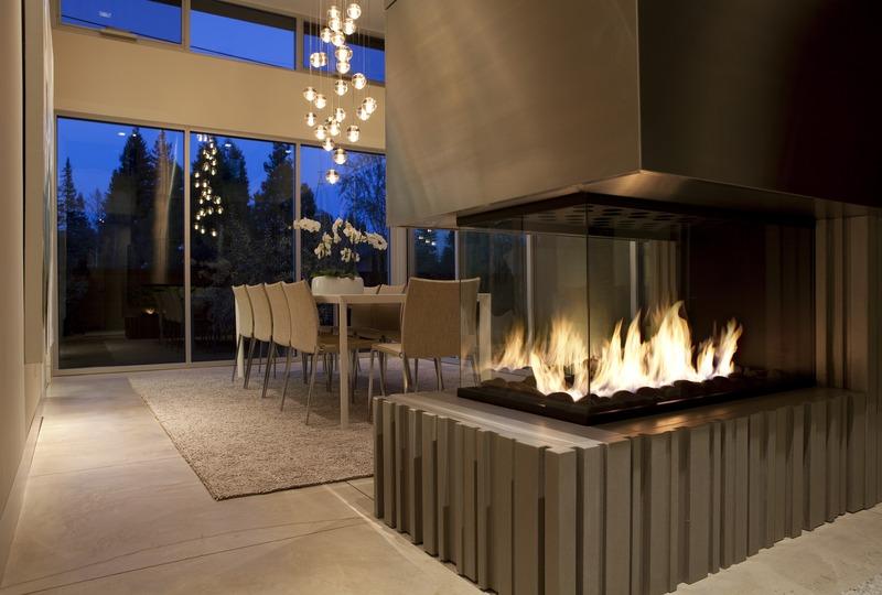 Montigo Large Custom Gas Fireplaces Valley Fire Place Inc