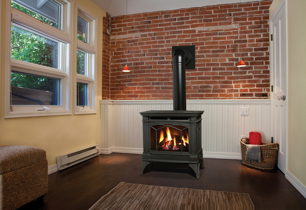 Gas Freestanding Stoves have the classic look of freestanding wood-burning units but without the hassle of wood