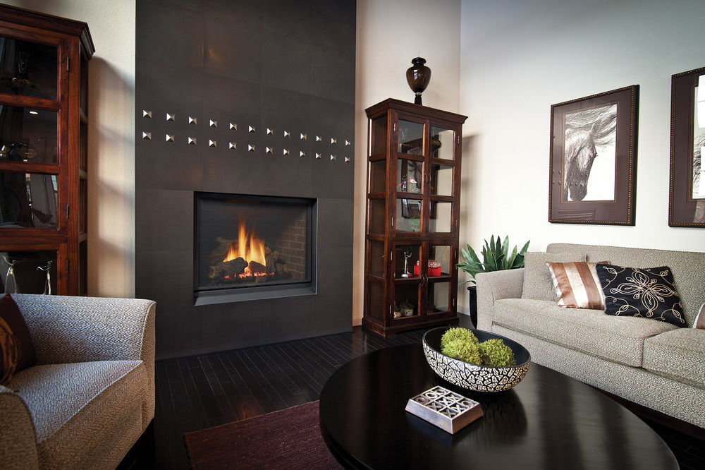 Regency's Traditional Gas Fireplaces