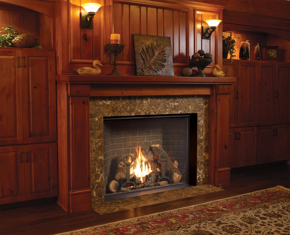Fireplace xtrordinair traditional gas fireplaces valley for Craftsman gas fireplace
