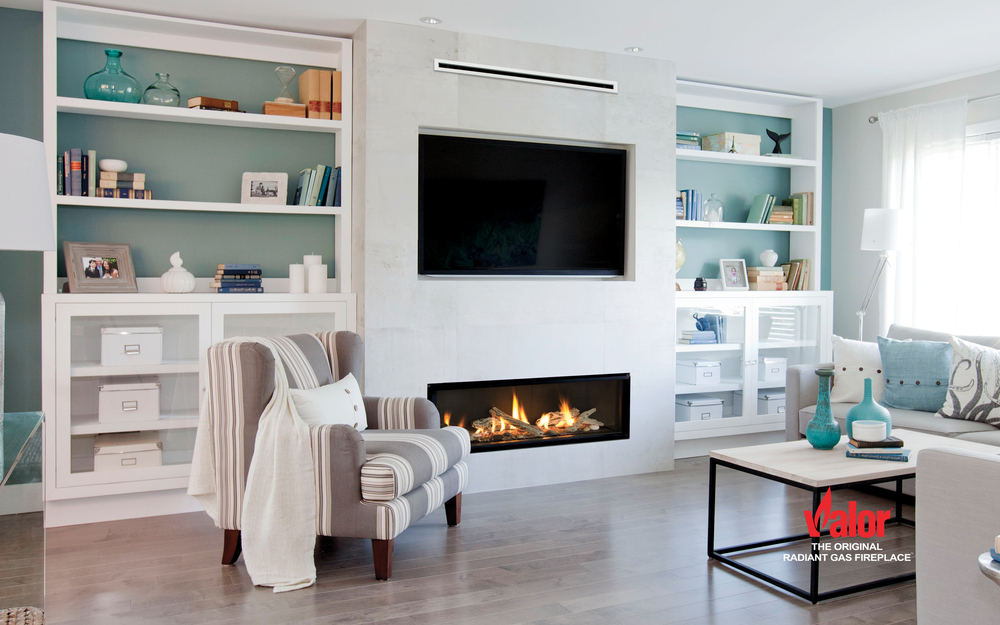 Fireplace Design boulevard fireplace : Valor Contemporary Gas Fireplaces — Valley Fire Place Inc.