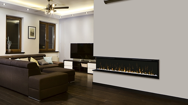 Electric-Only Fireplaces, Inserts, and Wall-Hanging