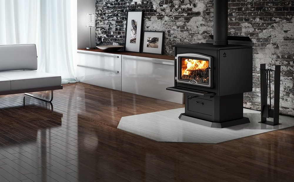 Wood Fueled Fireplaces, Inserts, and Stoves.