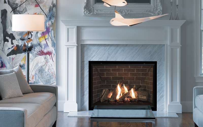 Valor's Traditional Gas Fireplaces