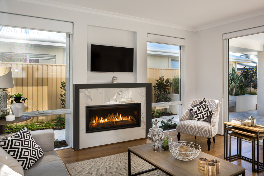 Kozy Heat's Contemporary Gas Fireplaces