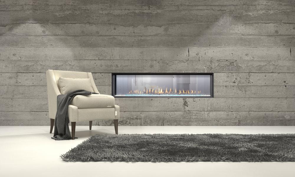 Montigo's Contemporary Gas Fireplaces