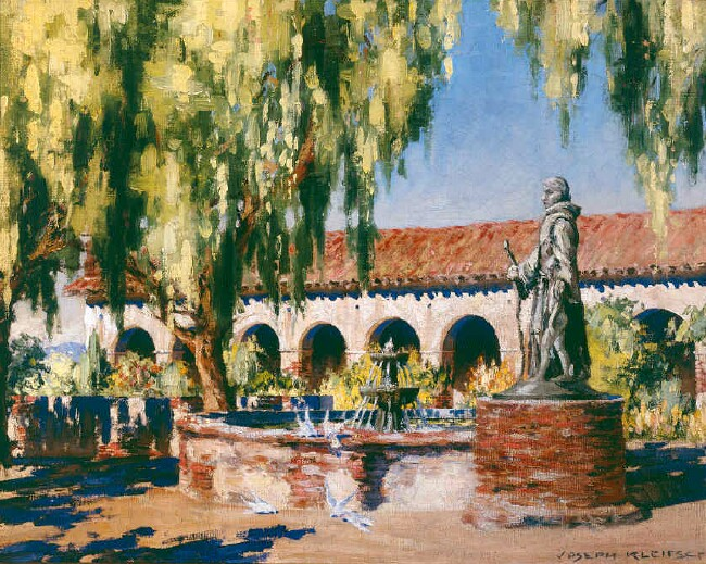 San Fernando Mission   / Oil on Canvas, 16 x 20 in. / Private Collection