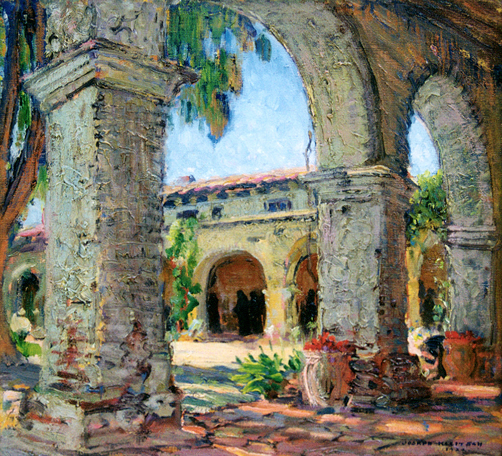 Through the Arches   / Oil on Canvas, 18 x 20 in. / Private Collection