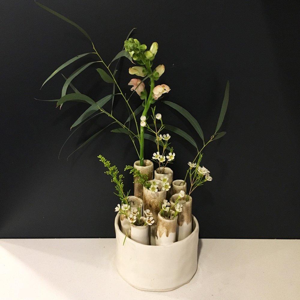 Large Tube Vase