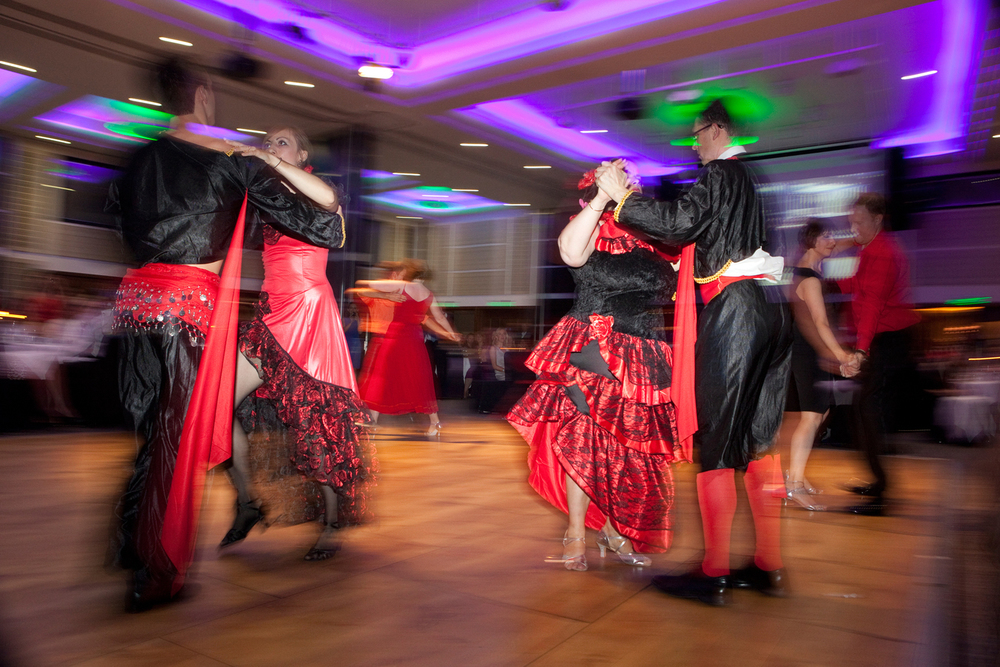 Hoagn Lovells charity legally ballroom event