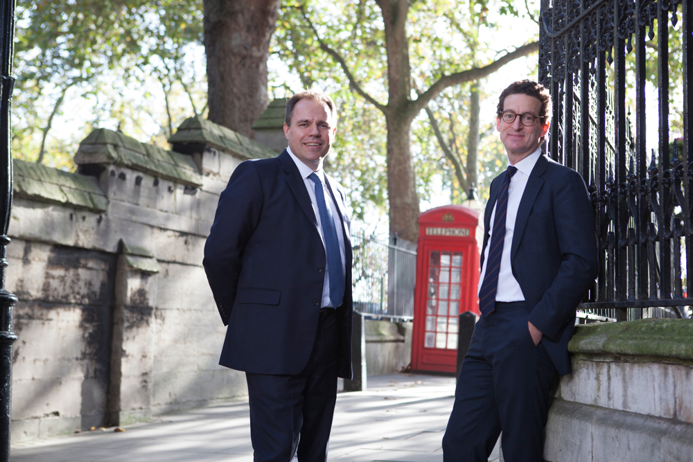 Corporate portraits in London