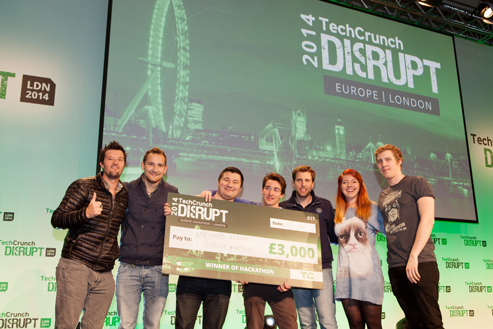 Award Ceremony photography from the Hackathon London event 2014