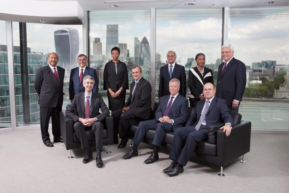 Randgold Management team shot in London