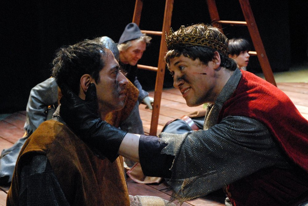 <i>Henry V</i>, Actor Shakespeare Company, with James Rana. Photo by Boyle Image