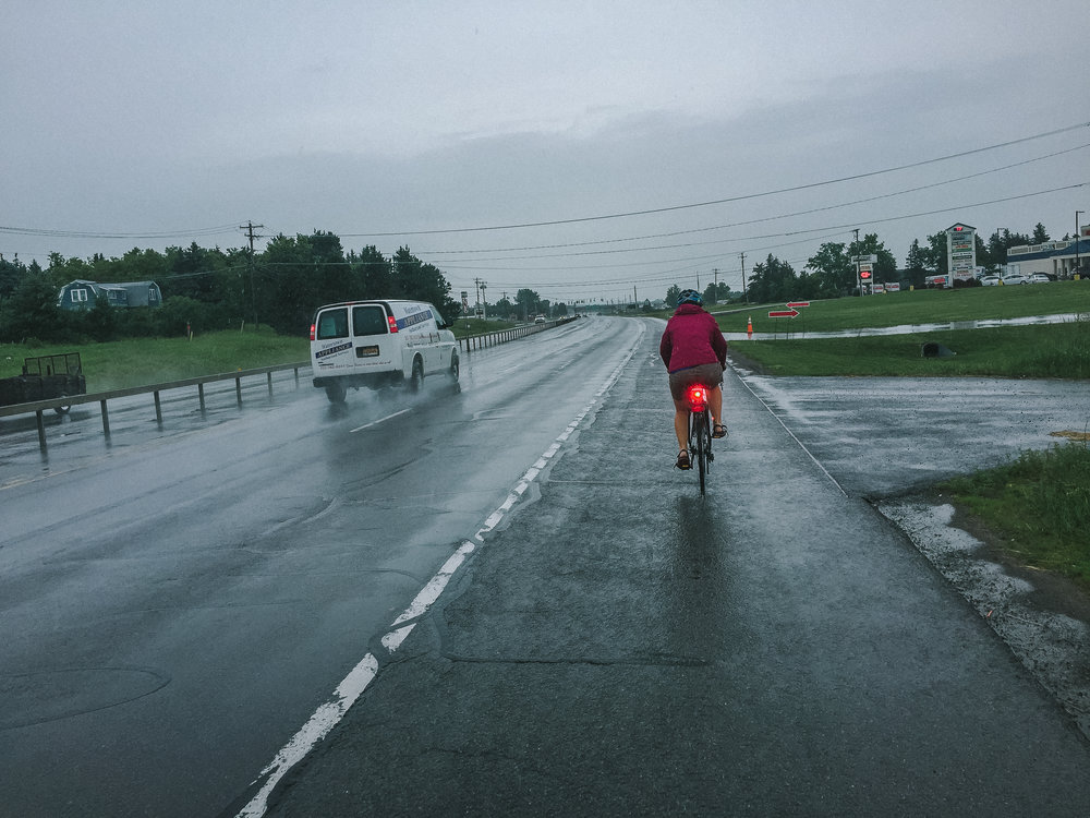 When you want Taco Bell, you bike in the rain to get Taco Bell. Evan Mills, NY