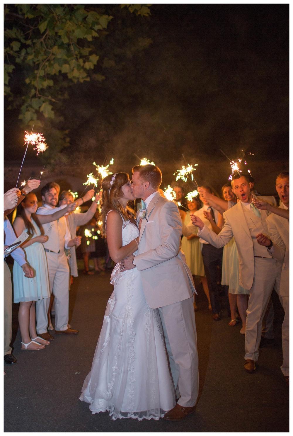 Sparklet Exit || Nassau Valley Vineyard Wedding || Lewes, DE Wedding || Vineyard Wedding || Ashley Eiban Photography || www.ashleyeiban.com