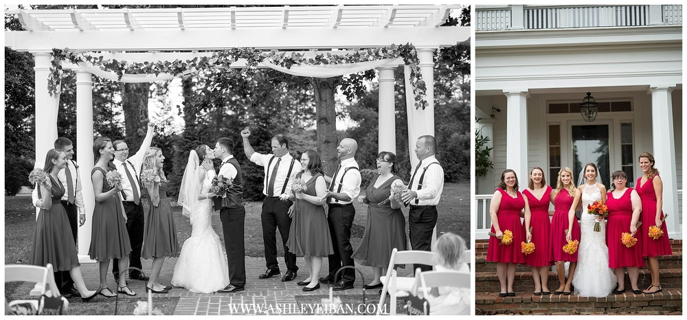 Lynchburg, Virginia Wedding Photographer || The Trivium Wedding || Forest, Virginia Wedding Photographer || Fall Wedding || Ashley Eiban Photography || www.ashleyeiban.com