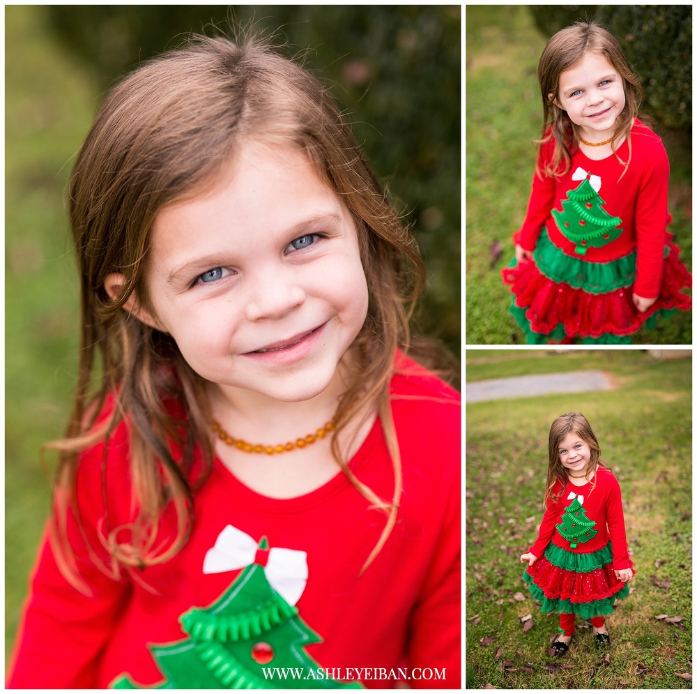 Lynchburg Virginia Photographer || Christmas Dress || Ashley Eiban Photography || www.ashleyeiban.com
