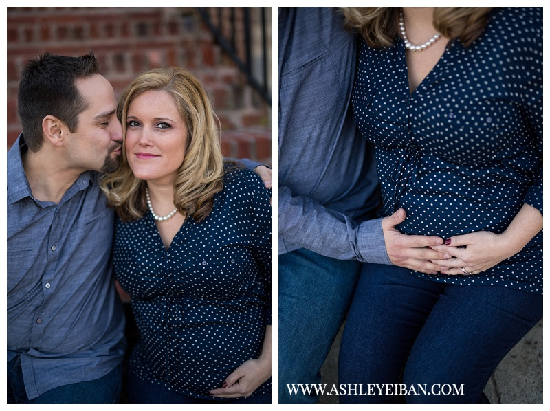 Richmond, VA Photographer || Maternity Photographer || Lynchburg, VA Photographer || Winter Maternity Photos || Ashley Eiban Photography || www.ashleyeiban.com