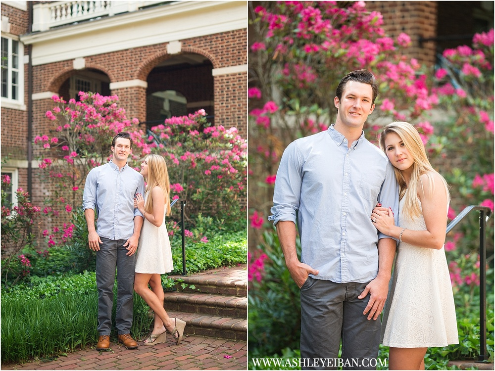 Sweet Briar Engagement || Lynchburg Wedding and Engagement Photographer || Ashley Eiban Photography || www.ashleyeiban.com