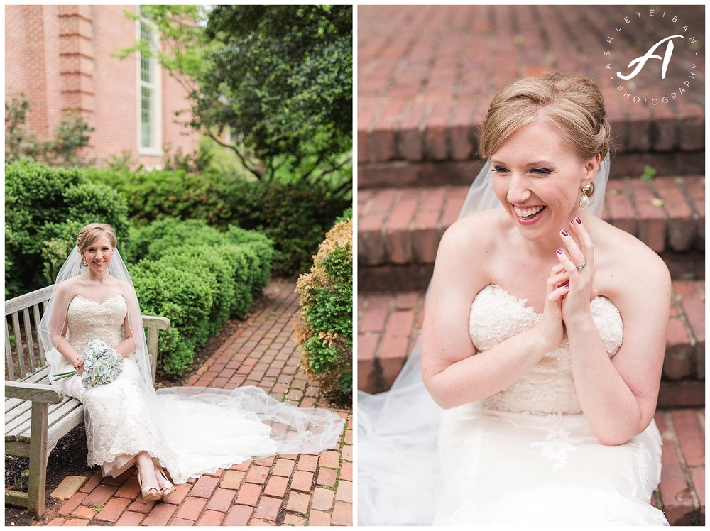 Lynchburg Virginia Wedding Photographer || Charlottesville Wedding Photographer || Bridal Portraits || Ashley Eiban Photography || www.ashleyeiban.com