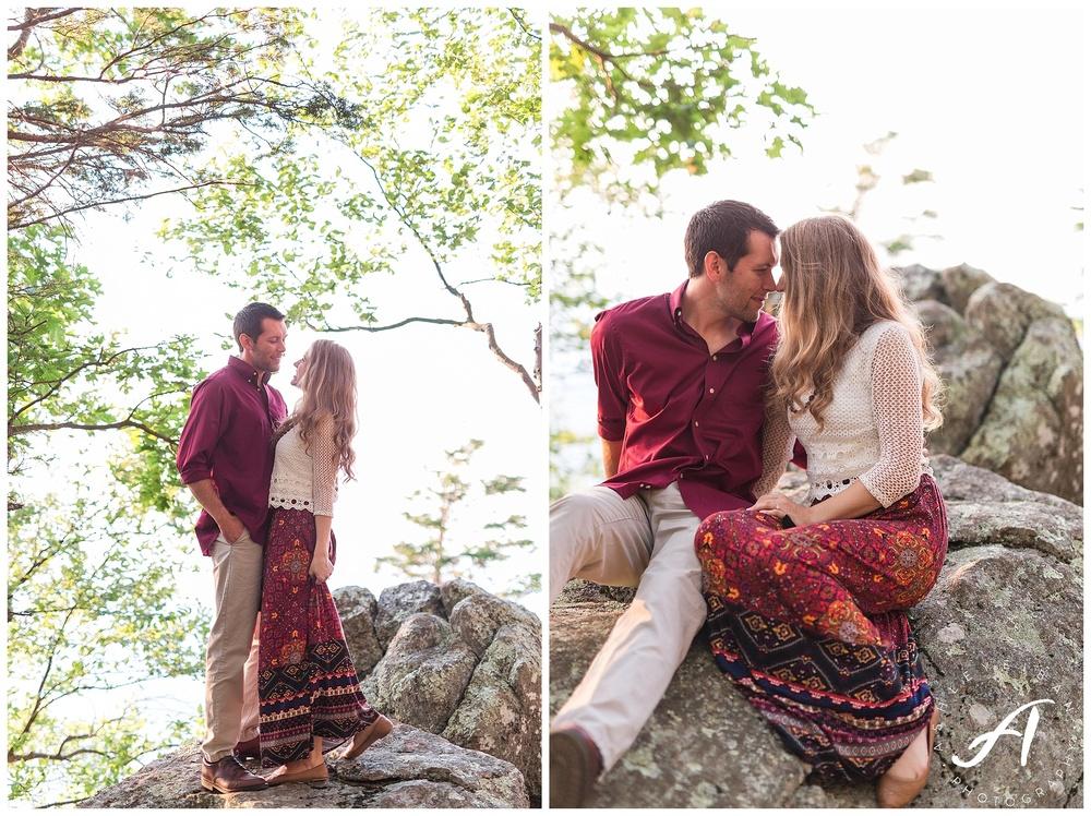 Summer Engagement Session || Lynchburg Virginia Wedding Photographer || Charlottesville Wedding Photographer || Ashley Eiban Photography || www.ashleyeiban.com