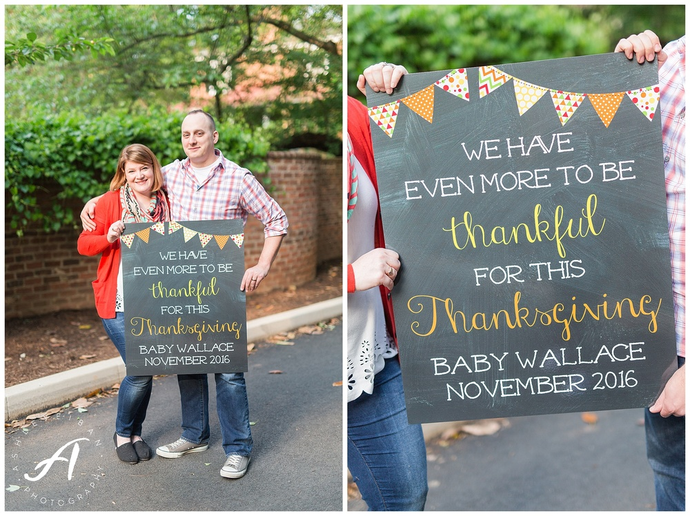 Charlottesville Pregnancy Announcement || Lynchburg Wedding Photographer || Ashley Eiban Photography || www.ashleyeiban.com