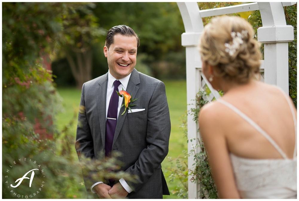 All about a first look || Lynchburg, VA Wedding Photographer || Ashley Eiban Photography || www.ashleyeiban.com