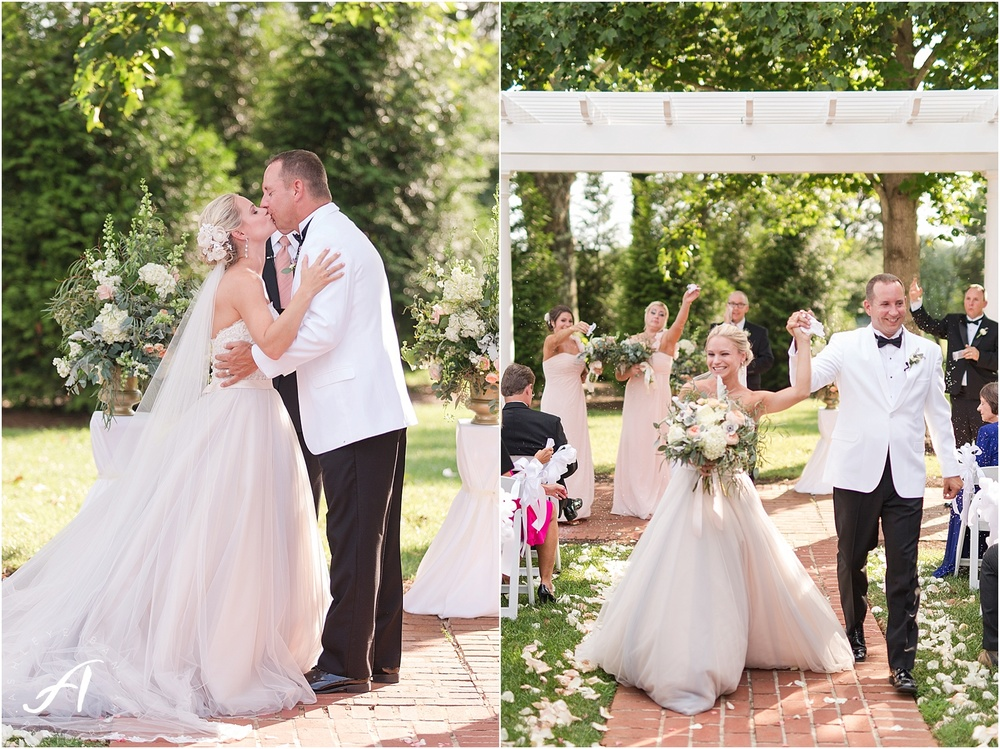 Outdoor Wedding at The Trivium Estate in Forest, Virginia || Ashley Eiban Photography