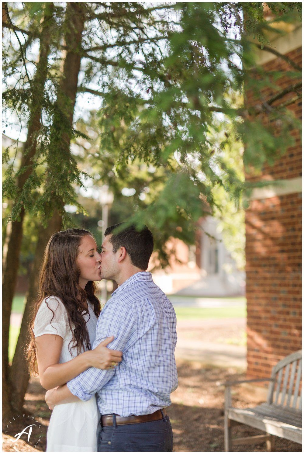 Sweet Briar College Summer Engagement Session || Lynchburg, Virginia Wedding Photographer || Ashley Eiban Photography || www.ashleyeiban.com