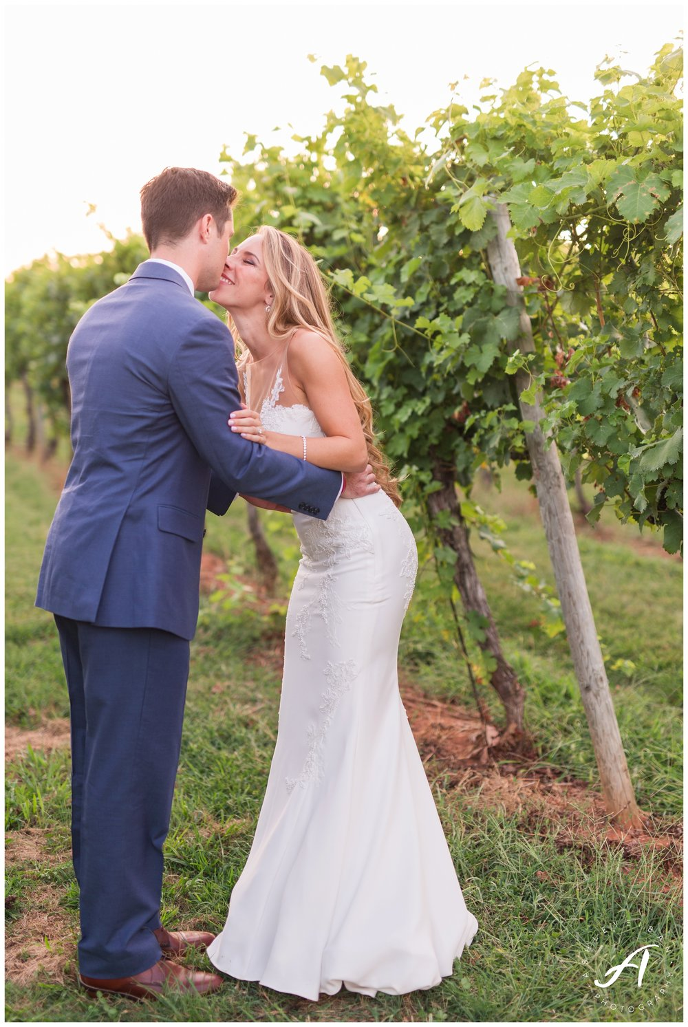 Charlottesville, VA Wedding Photographer || Keswick Vineyard Wedding || Colorful Vineyard Wedding || Ashley Eiban Photography || www.ashleyeiban.com