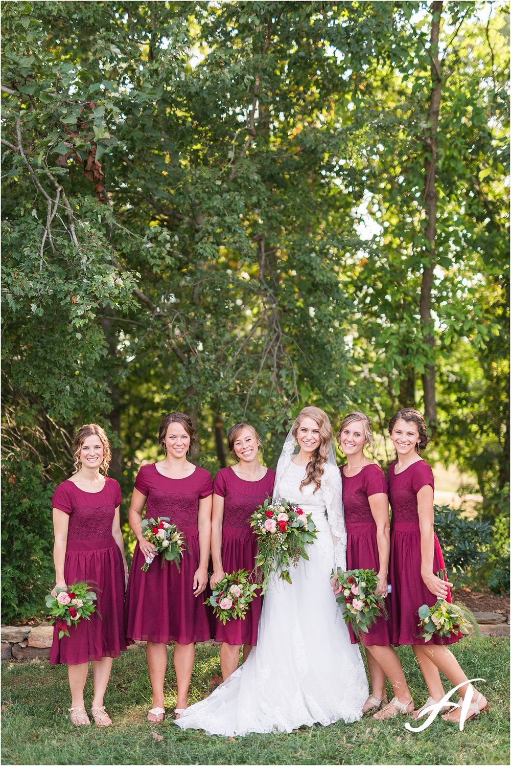 Farmville Wedding Photographer || Autumn Backyard Wedding in Central Virginia || Ashley Eiban Photography || www.ashleyeiban.com