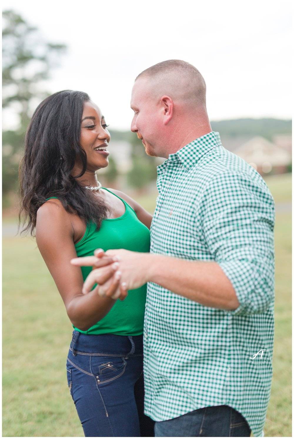Charlottesville and Lynchburg Fall Engagement Session || Ashley Eiban Photography || www.ashleyeiban.com