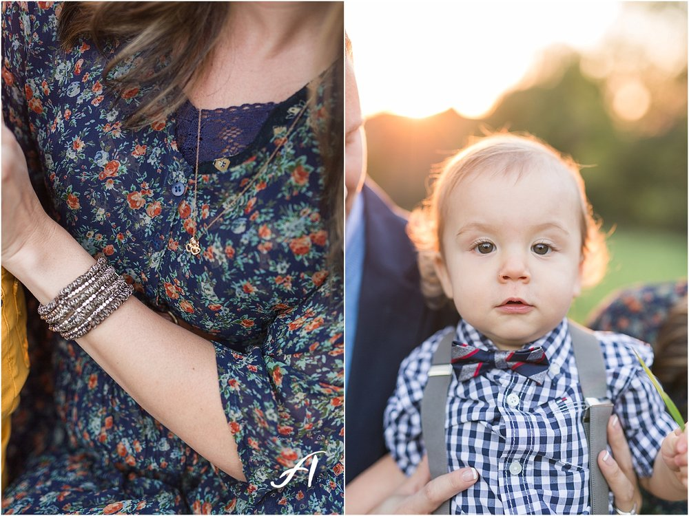 Lynchburg, Virginia Wedding and Family Photographer || Fall family photos in Central Virginia || www.ashleyeiban.com