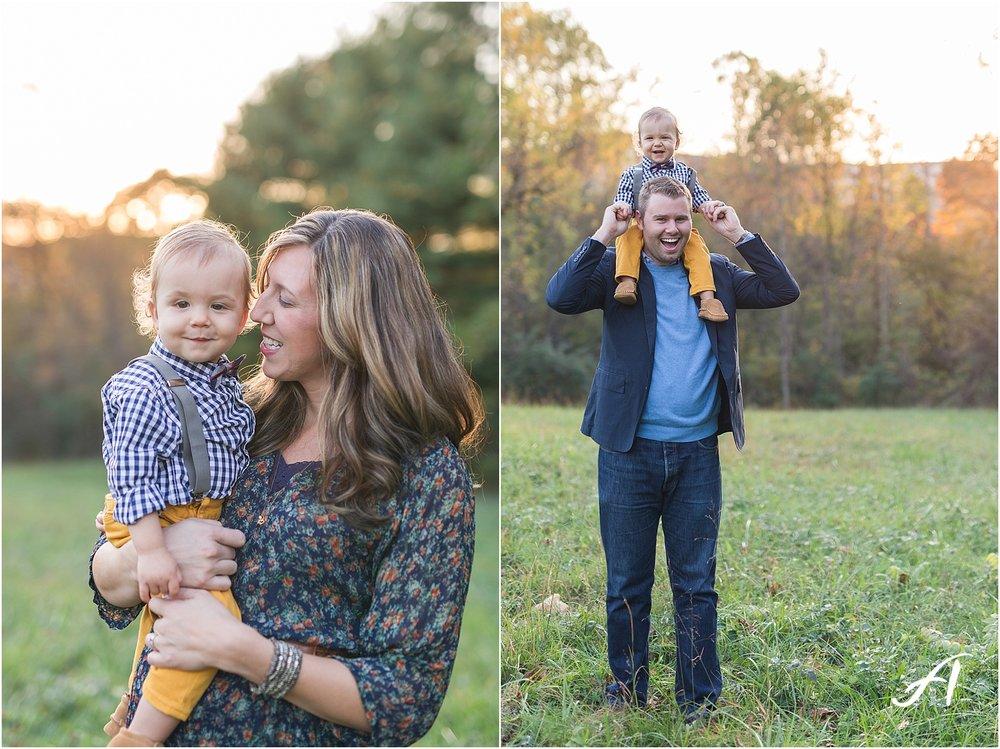 Lynchburg, Virginia Wedding and Family Photographer || Fall family photos in Central Virginia || www.ashleyeiban.com