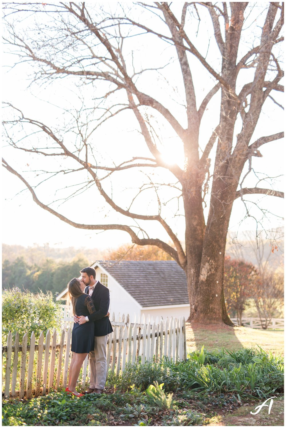 Charlottesville engagement and wedding photographer || Central Virginia Wedding Photographer || www.ashleyeiban.com