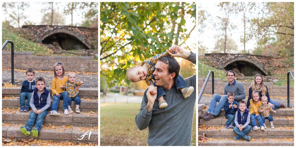 Lynchburg and Charlottesville Wedding Photographer || Fall family photos in Central Virginia || www.ashleyeiban.com