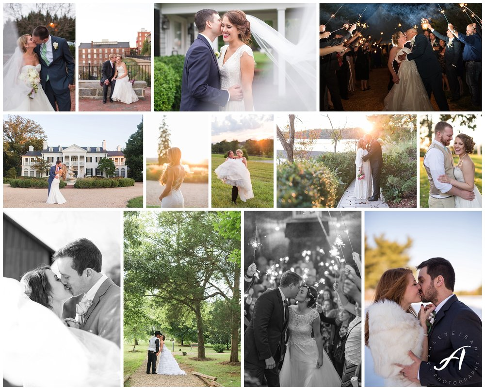 Lynchburg and Charlottesville Wedding Photographer | Central Virginia Wedding Photographers || www.ashleyeiban.com