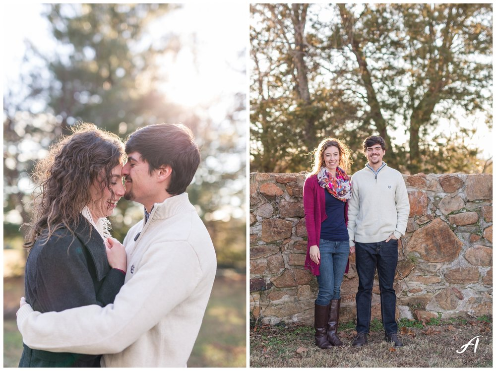 Trivium Estate Engagement Session || Lynchburg and Forest Wedding Photographer || www.ashleyeiban.com