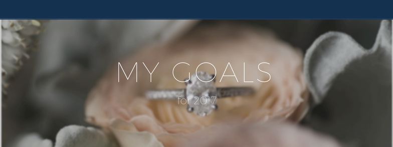 Goal Planning for Small Business || 2017 Goals for my Photography business || Lynchburg Wedding Photographer || www.ashleyeiban.com