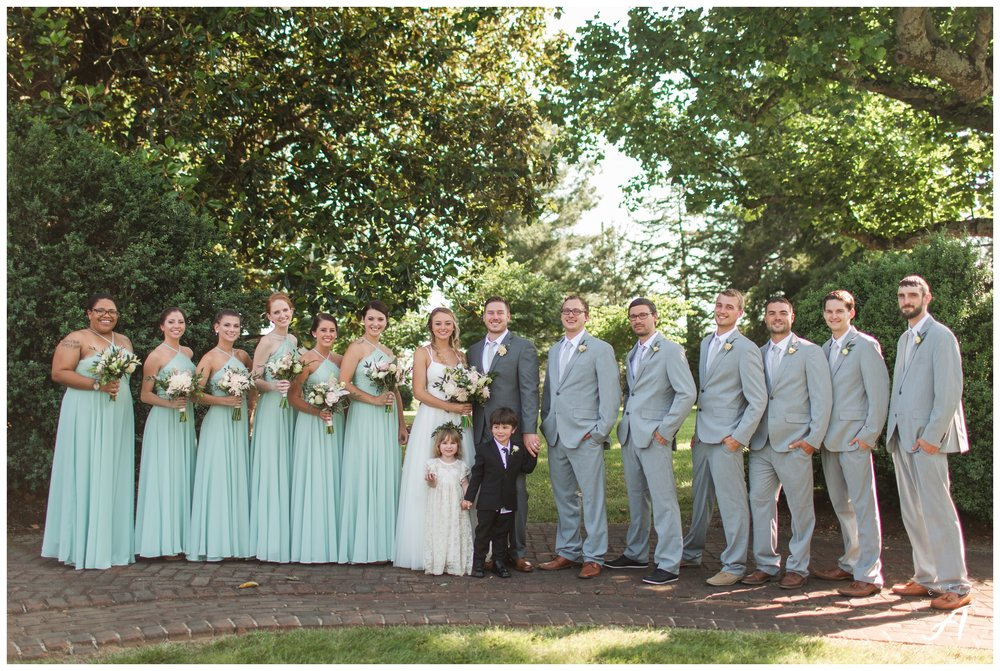Lynchburg and Central Virginia Wedding Photographer || Trivium Estate Wedding Photos || Ashley Eiban Photography www.ashleyeiban.com