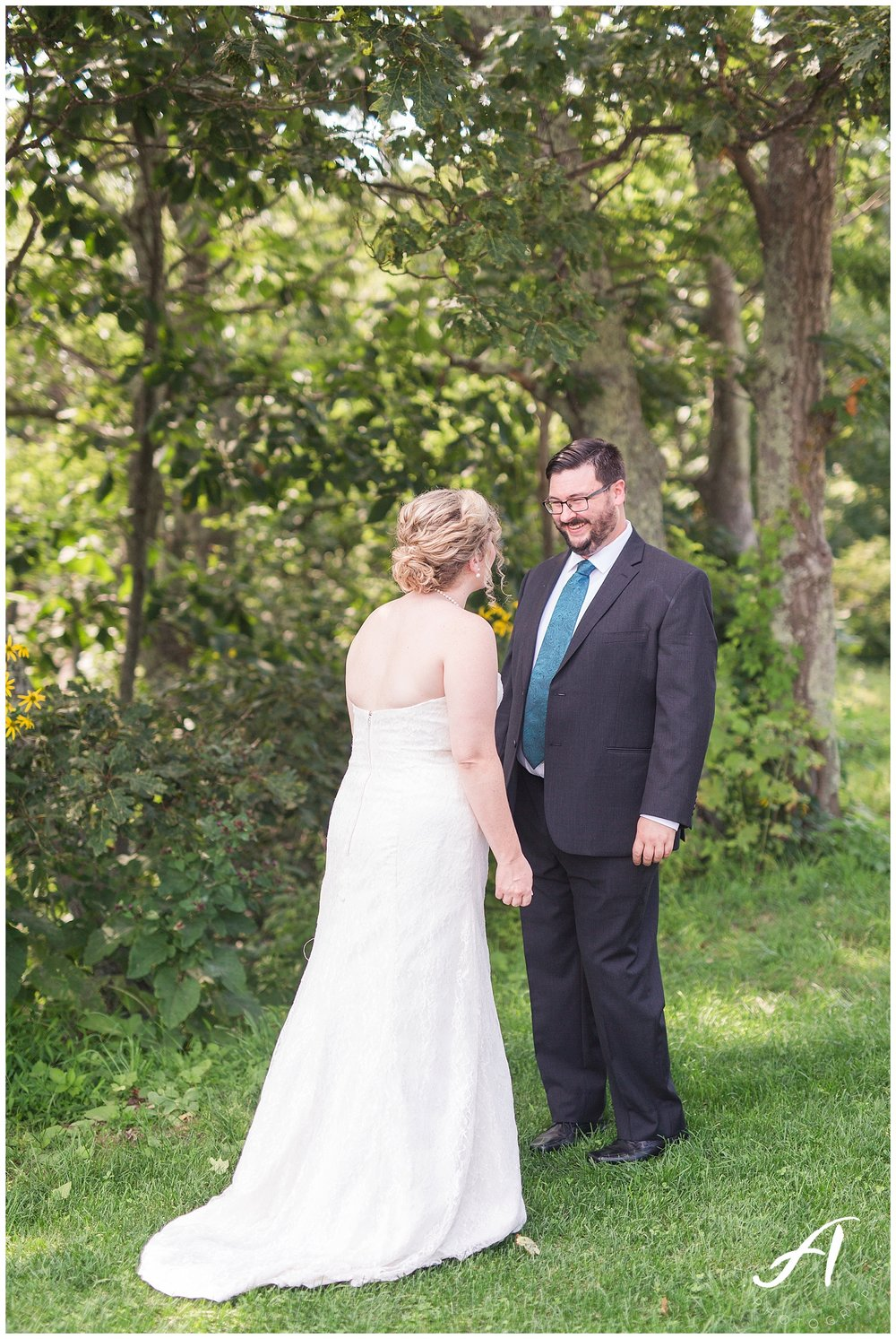 Mountain View Wedding || Central Virginia, Wintergreen Resort Wedding || Ashley Eiban Photography || www.ashleyeiban.com