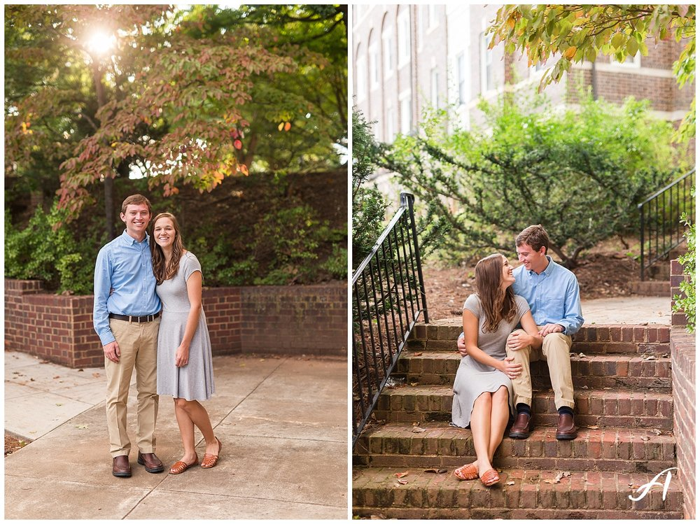 Lynchburg and Charlottesville Wedding and Engagement Photographer || Sweet Briar College Engagement || www.ashleyeiban.com
