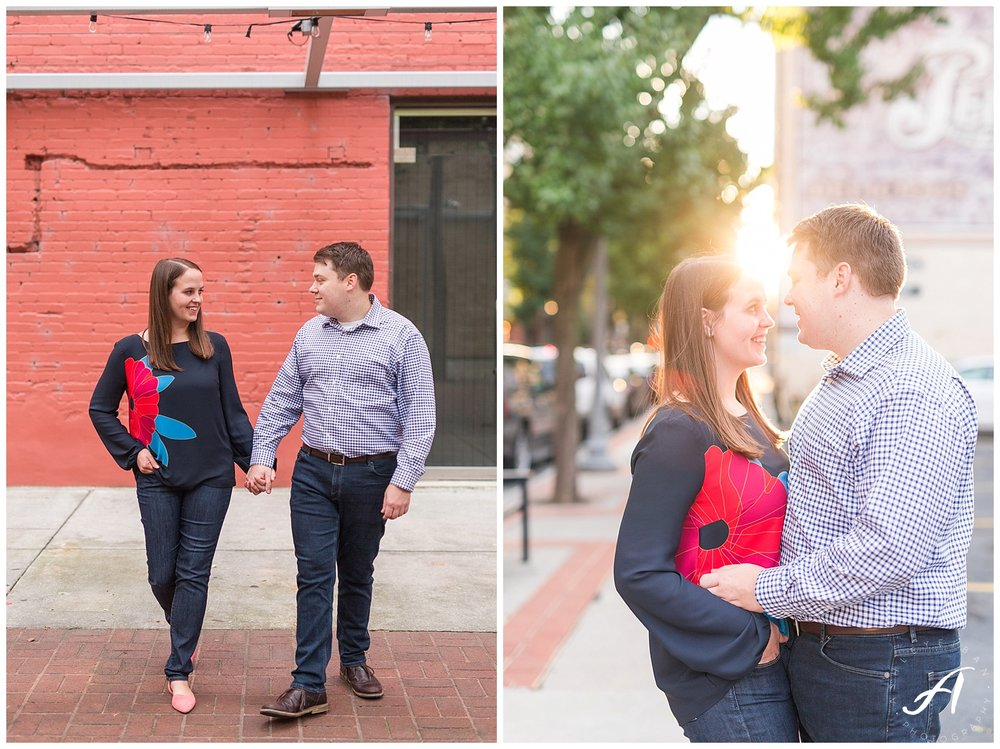Roanoke and Charlottesville Wedding Photographer || Roanoke Engagement Session || www.ashleyeiban.com
