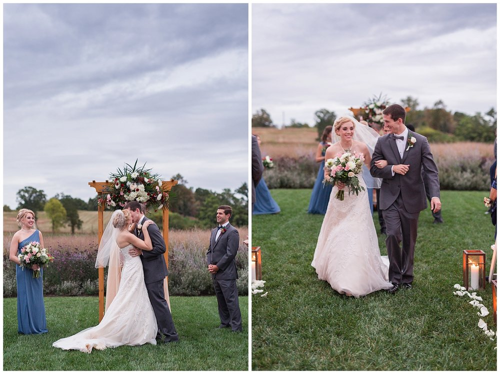 Early Mountain Vineyard Wedding || Charlottesville VA Wedding Photographer || www.ashleyeiban.com