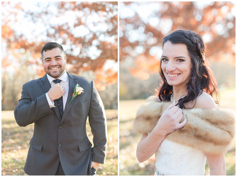 Fall elopement in Lynchburg, Virginia || Central Virginia Wedding Photographer || www.ashleyeiban.com