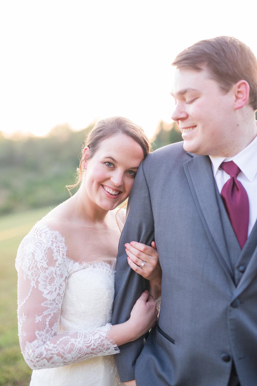 Lynchburg Virginia Wedding Photographer || Central Virginia Wedding Photos || Ashley Eiban Photography || www.ashleyeiban.com || Keswick Vineyard Wedding